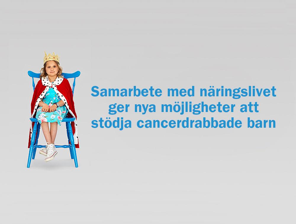 Barncancerfondens Innovativa Samarbete Med Näringslivet